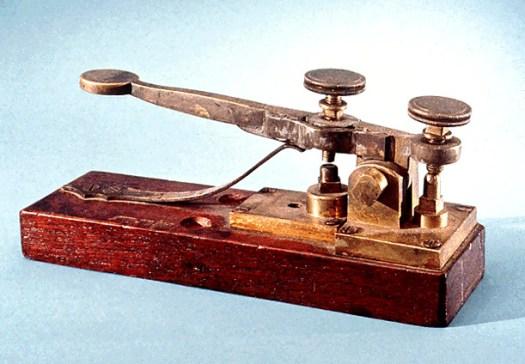 first telegraph key
