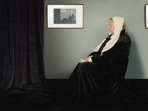 Whistler's Mother, Halloween Costume