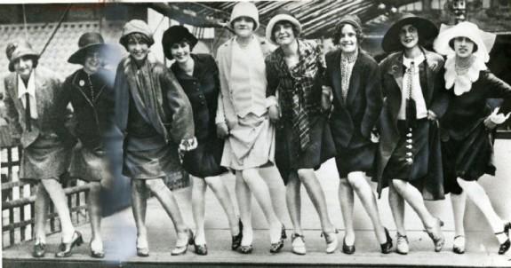 Image result for vintage photo flappers