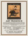 Art Presence Annual Art Jubilee Show & Jacksonville's 150th Anniversary Jubilee!