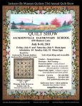 Jacksonville Museum Quilters 2011 Annual Show