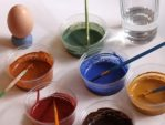 Earth Paint makes great non-toxic egg coloring for Easter