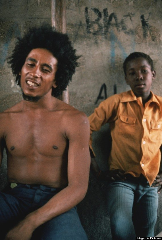 "Bob Marley in a scene from ""Marley"". Photo courtesy of Magnolia Pictures."