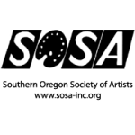 SOSA May 2018 meeting : sosa logo southern oregon society of artists