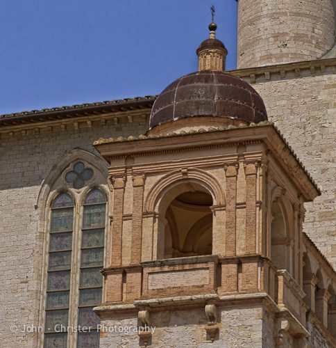 Side tower, Basilica St Francis of Assisi