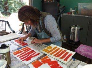 Colorhue dyes color study