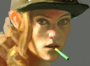 Elijah Boor, painting