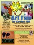 Artoberfest 2014 flyer