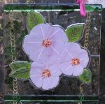 Flowers of Hope workshops at LightGarden Glass art with Jessica Carrara