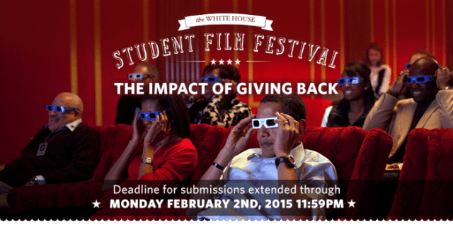 White House Call to Student Filmmakers for the White House Student Film Festival