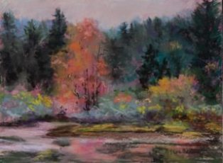 Autumn Treasure, Pastel by Steve Bennett