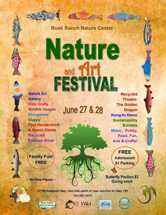 Call to Artists - 2015 Nature and Art Festival, Cave Junction, Oregon