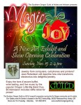Southern Oregon Guild of Artists and Artisans announces the opening reception for their new Magic & Joy exhibit on Sunday, November 15 2015