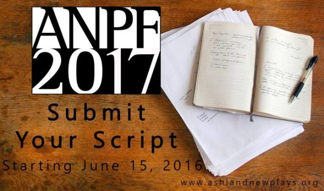 ANPF Script Submissions : Accepted beginning June 15, 2016 and 8 AM pT