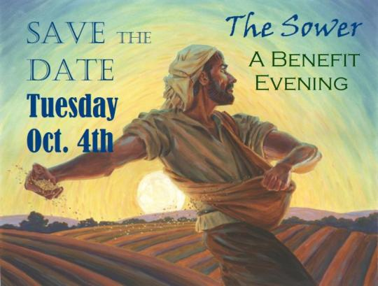 Masterpiece Christian Fine Art Foudnation Benefit Event 'The Sower' October 4, 2016, Ashland, Oregon