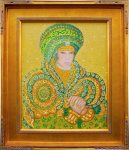 February 2017 at Art Du Jour Gallery : Byzantine Queen by Doug Wallace
