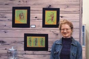 2016 Student Show artist, Sophie Birch-Bridges