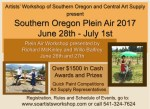 Southern Oregon Plein Air 2017 Event announcementwww.soartistsworkshop.com