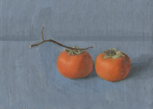 Persimmons by Sarah F Burns