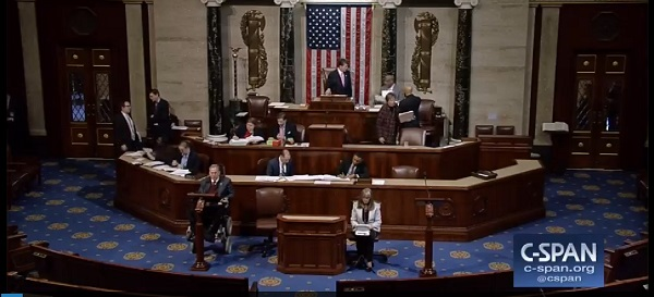 Rep. Jim Langevin (D-RI) leads extended debate on the U.S. House floor in support of the NEA and NEH