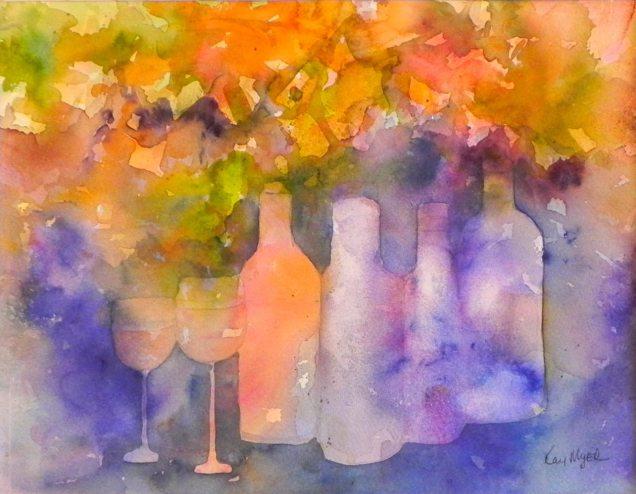 Grenache Rose, by Kay Myer