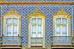 """Tavira Balconies, Portugal"" 24x36, photograph by Pat Moore"