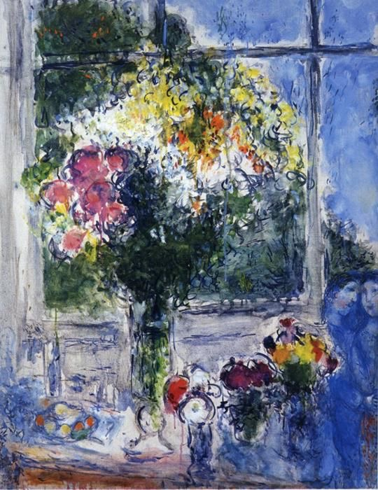 Image caption: Marc Chagall, painting