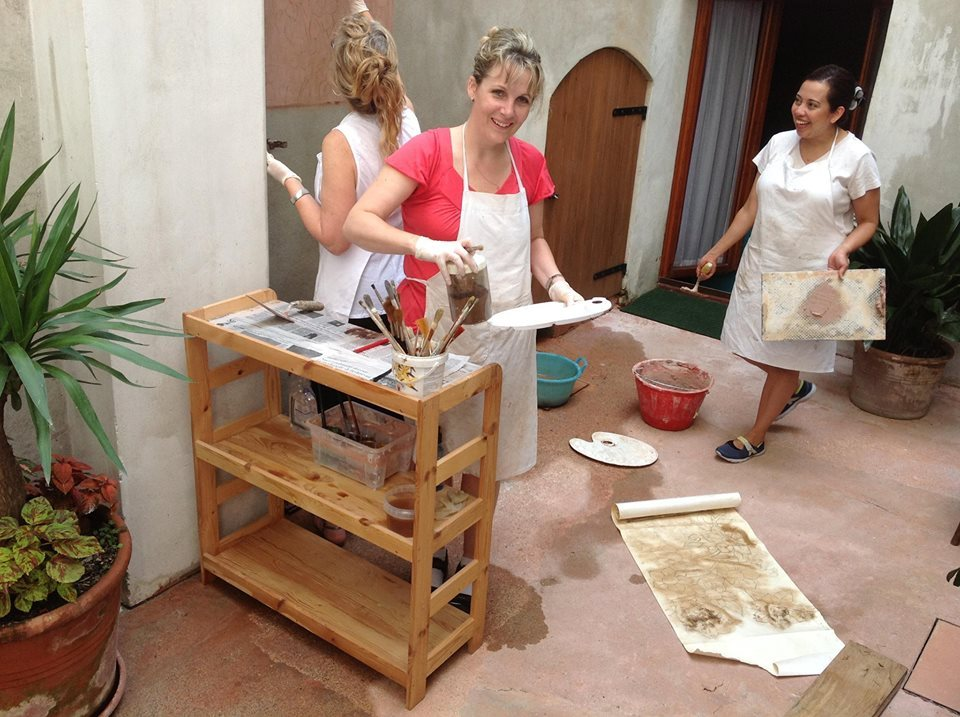Natural Painting Workshop in Italy! -Picture of Alma Ortolan