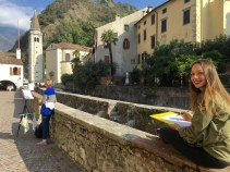 Natural Painting Workshop in Italy! Painting en plein aire