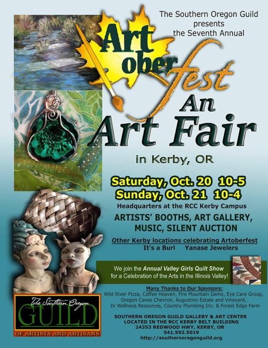 2018 Artoberfest in Kerby This Weekend!