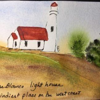 Darlene Southworth, watercolor, at Ashland Art Center