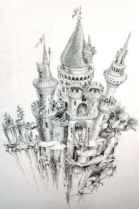 Carl Seyboldt illustration reprinted by permission of the artist.
