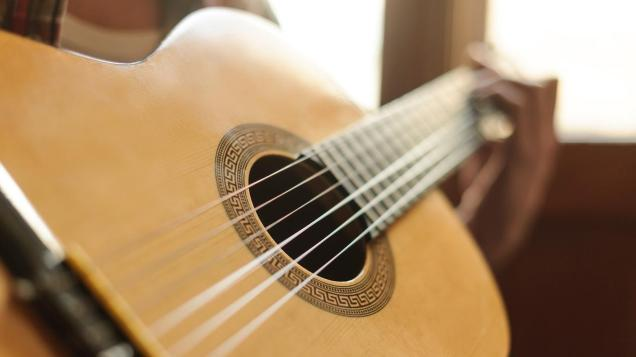 image of an acoustic guitar