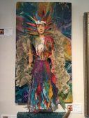 Angels show : True Colors, assemblage by Audrey Roberts, age 12