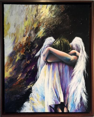 Angels show : Evolving Angels II, by Brenda Mills Brannan