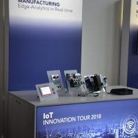 show-Case zum Thema Edge-Analytics in Real-Time auf der IoT Innovation Tour 2018.