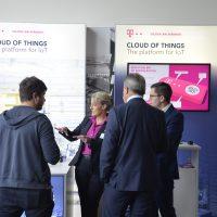 Die IoT Innovation Tour war gut besucht. Viele Experten tauschen sich in der Pause zu den aktuellen IoT Themen aus.