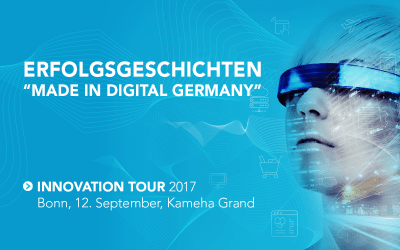"Erfolgsgeschichten ""Made in Digital Germany"": Die Software AG Innovation Tour 2017 kommt nach Bonn"