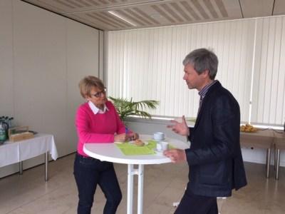Rainer Kapp und Gabriele Strobel