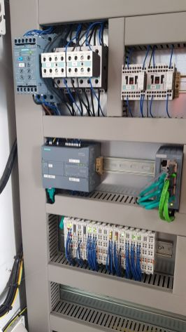 Foto aus einer Machinensteurerung