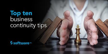 Das A und O: Ruhe bewahren, auch in Sachen Business Continuity