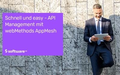 Immer mehr API-Hubs? webMethods AppMesh ist eine Steuerungsschicht zur Bändigung des Service-Mesh-Chaos