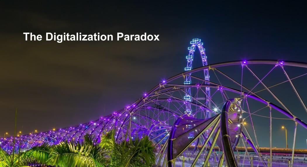 Das Paradoxon der Digitalisierung