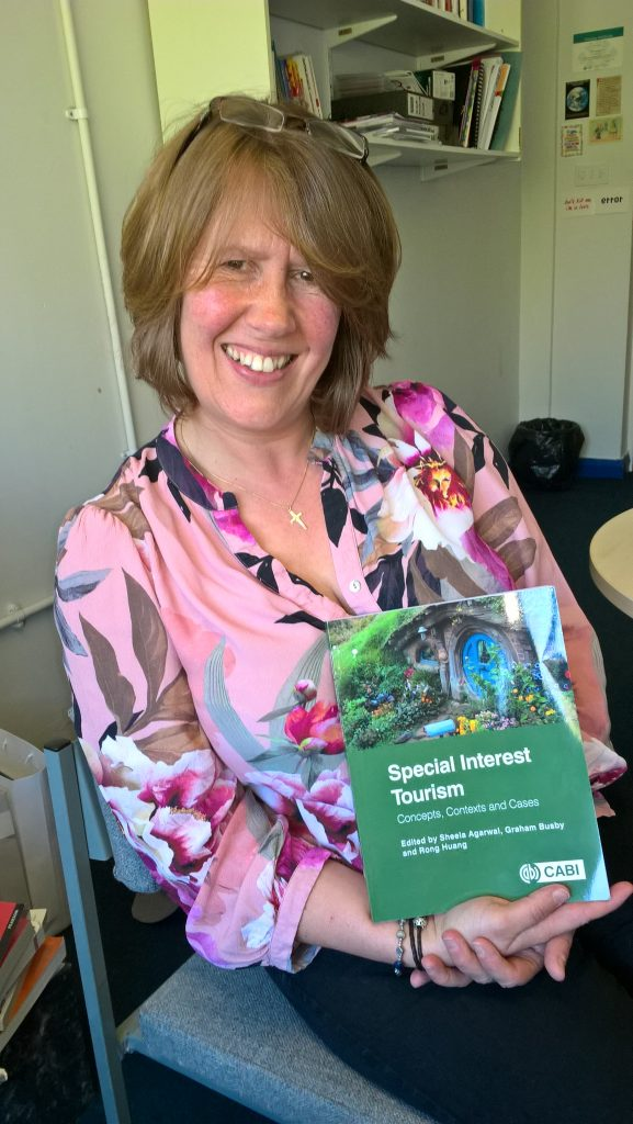 Carol Southall with the new book