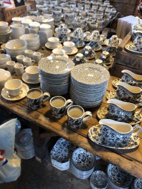 Some of the range of Burleigh Pottery