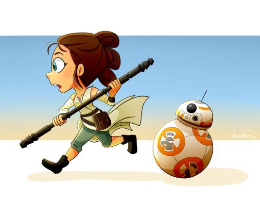 INICIO star_wars_tfa__rey_and_bb_8_by_elena114-d9kxrvj