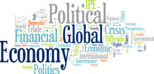 Word cloud, political, global, economy