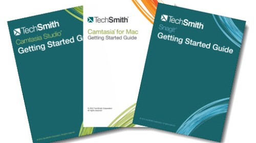 Getting started in Snagit and Camtasia
