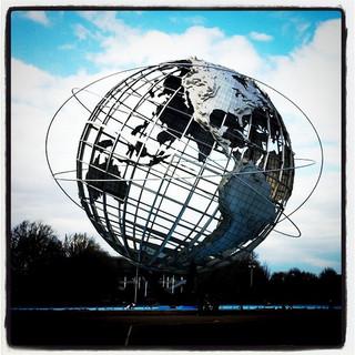 Skeleton Globe by sparselogic2 on Flickr
