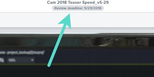 Im Screenshot ist der Endtermin für die Videoüberprüfung zu sehen.